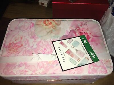 Ted Baker. Majestic Marvels. Ladies Gift Set With Vanity Case