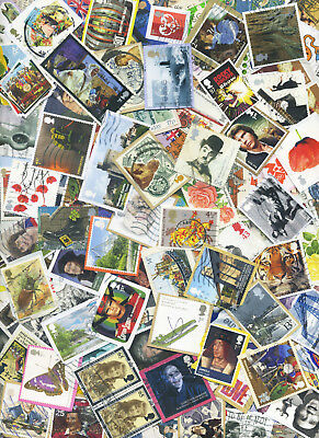 110 + 10 GB COMMEMORATIVE STAMPS inc HV up to recent KILOWARE Great Britain W