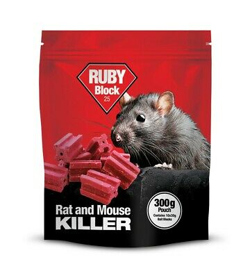 Ruby Block Rat and Mouse Lodi - 300g Pouch
