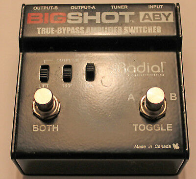 Radial BigShot ABY True Bypass Amplifier Switcher
