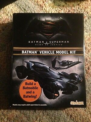 Batman Vehicle Model Kit by Centum Build A Batmobile & Batwing Press/Slot