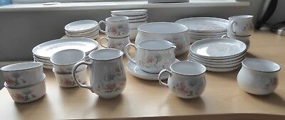 DENBY ENCORE/Sweet Pea 38 Piece Dinner Set
