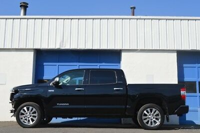 Toyota Tundra Limited 5.7L V8 Repairable Rebuildable Salvage Runs Great Project Builder Fixer Easy Fix Save