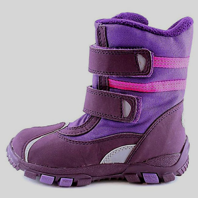 New Clarks SNOW infant Girls Teen kids Boots Winter WATERPROOF Lined Wellies