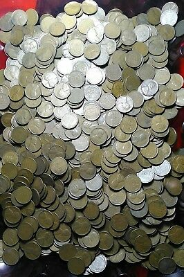 (1000)  1930-1939 Lincoln wheat pennies- P & D mints- nice circulated