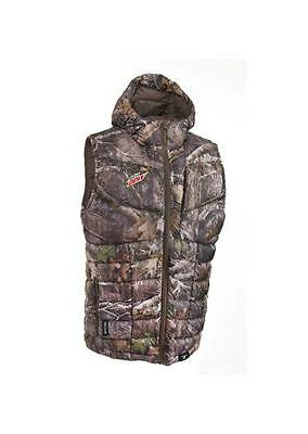 Real True Timber Tree Camo Lightweight Puffy Down Vest Mtn Dew Limited Edition