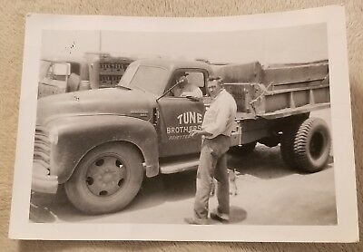 Vintage Black And White Photograph Fayetteville, Arkansas Tune Brothers CocaCola