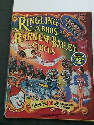 Ringling Bros And Barnum & Bailey Circus 100 Year Celebration 1984 Program Rare