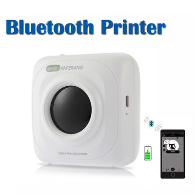 Mini Pocket Wireless Bluetooth Paper Photo Note Memo Printer USB Charge 1000mAh
