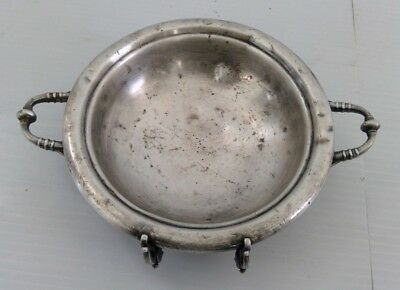 ROGERS SMITH & CO. Quadruple Silverplate Aesthetic Bowl 4998