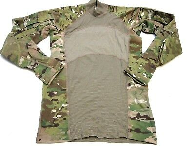 ARMY OCP MULTICAM COMBAT SHIRTS X-SMALL FLAME RESISTANT HOT WEATHER TOP SHIRT c2