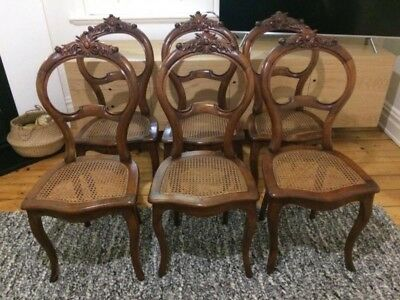 French Chairs x 6 - Original