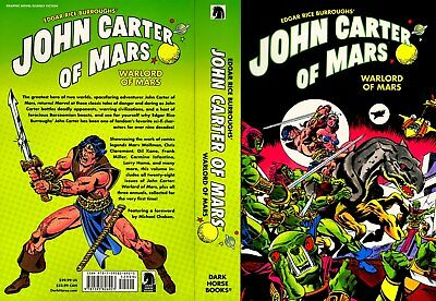 John Carter Of Mars Warlord Of Mars Dark Horse Comics Trade Paperback