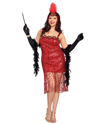 New Dreamgirl 10267X Plus Size Ain't She Sweet Retro Costume