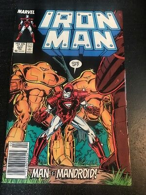 "Iron Man#227 Incredible Condition 8.5(1988)""Armor Wars Begins"""