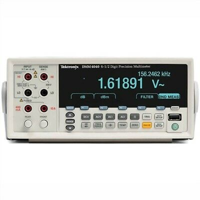 Digital Multimeter Multimeter Tektronix 6-1/2 Digit High-Precision DMM4040 zv