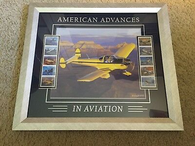 USPS 1st Class American Advances in Aviation Ercoupe 415  Picture & Stamps