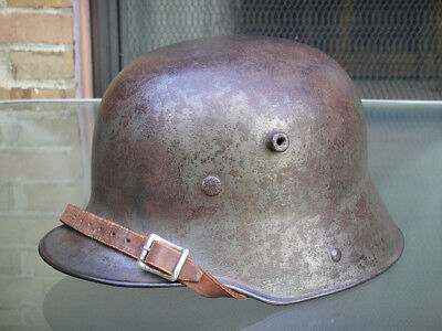 WWI Issue Steel M16 Imperial German Helmet