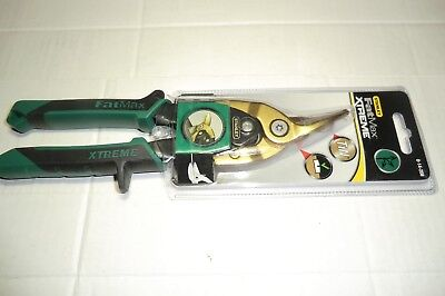 Stanley Fatmax Extreme 250Mm Right Cut Green Tin Snips New