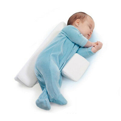 Baby Sleep Pillow Wedge Adjustable Infant Anti-Roll Flat Head Cushion Support