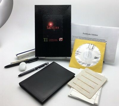 NEW Taylor Img. Apogee / ProMystic SOLSTICE Mentalism Jotter Wallet Magic Trick
