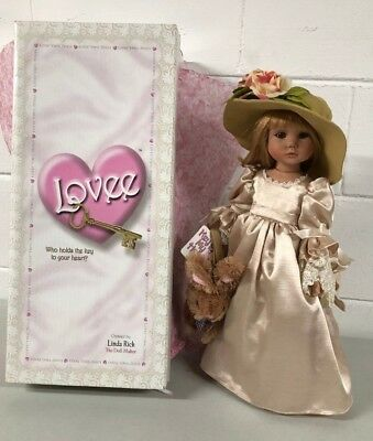 """Linda Rick Doll - Places In The Heart, Key To My Heart 19"""" #217 ESTATE FIND"""