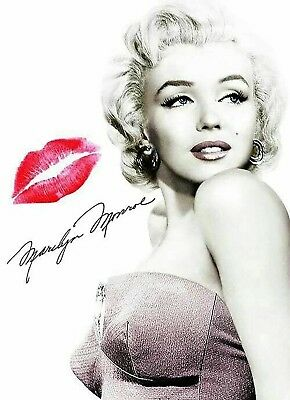 Marilyn Monroe Iron On Transfer For T-Shirt & Other Light Color Fabrics #3