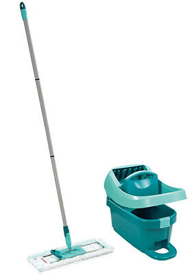 Genuine Leifheit Profi Mop With Bucket and Rollers Set LEI55096