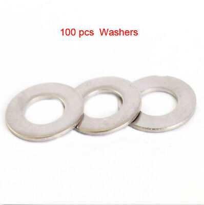 100/50X M3 M4 M5 M6 M8 M10 M12 Stainless Penny Repair Washers