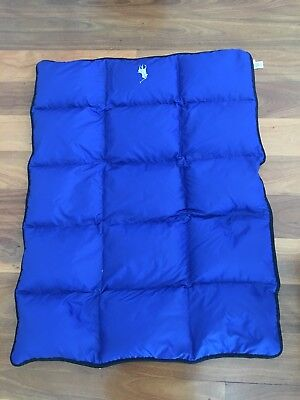 Polo Ralph Lauren Polyester Children's Cot Size Quilt With Feather down Filling