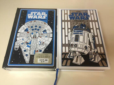 Barnes & Noble Leatherbound: The Star Wars Trilogy R2D2 & The Han Solo Trilogy
