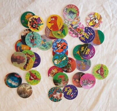 Tazos Bulk Lot Simpsons Space Jam And Star Wars