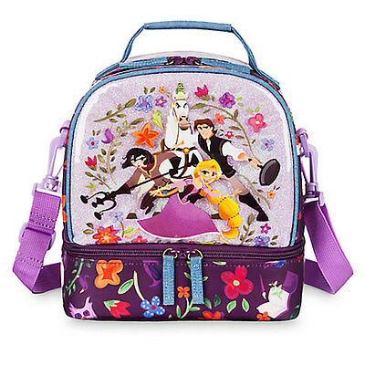 NWT Disney Store Rapunzel Lunch Box Tote Bag School Tangled the series