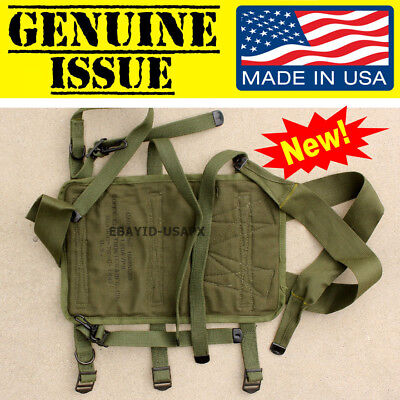 NEW US Military PRC Radio Carry Carrying Harness ST-120A/PR CARRIER VIETNAM USGI