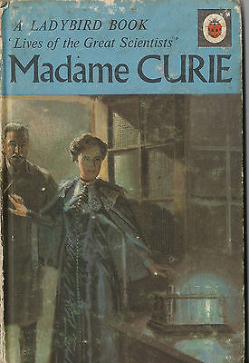 LADYBIRD Lives of the Great Scientists Series 708 MADAME CURIE Vintage 1st Edit.