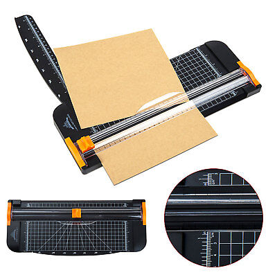 Duty A4 To B7 Paper Photo Cutter Guillotine Trimmer Knife Metal Base Portable AU
