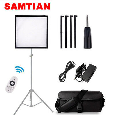 SAMTIAN Flexible LED Video Light CRI 90 Studio Photography Lighting Daylight Kit