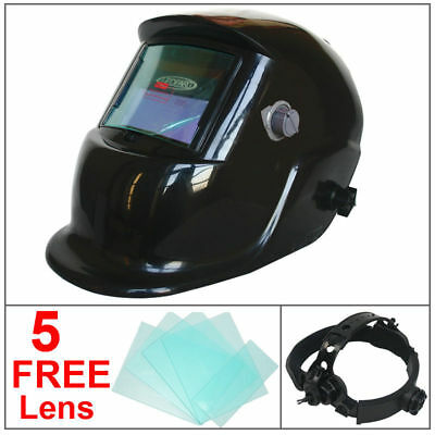 Auto Darkening Solar welders Welding Helmet Mask Grinding Function Full Shade UK