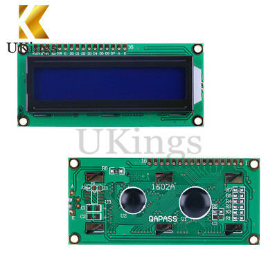 5PCS 1602 16x2 Character LCD Display Module HD44780 Controller blue Arduino LCD