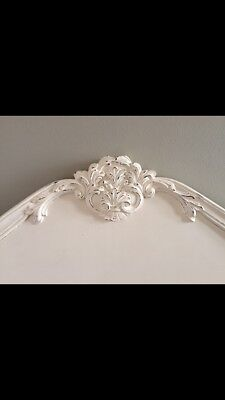 VINTAGE BEDHEAD - Ivory / DOUBLE SIZE