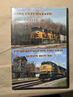 Tim Holmes Video DVD Iowa Interstate Coal & UP Heritage on the old Alton Route