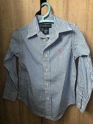 Boys Ralph Lauren Shirt Age 4