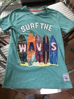 Boys Debenhams surf t shirt age 11-12 years