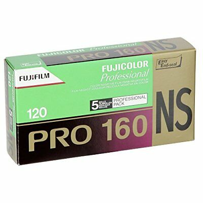 FUJIColor Negative Film (Professional) PRO 160 NS 12 sheets 5 pcs 120 PN 16