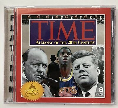 Time Almanac of the 20th Century PC CD ROM (1995)