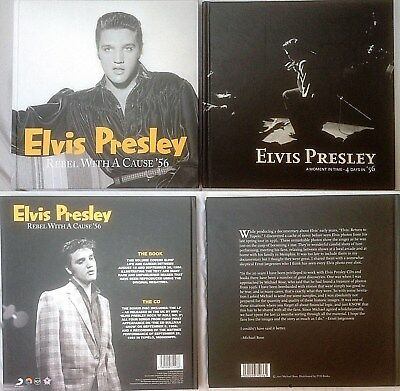 Elvis Presley FTD Books Buch Rebel with a cause 56 A moment in time 4 days in 56