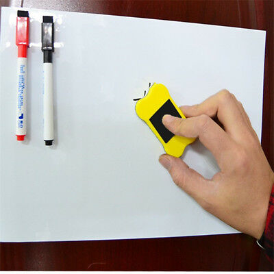 Magnetic Whiteboard A4 /A5 Dry Erase Drawing Recording Whiteboard Marker Eraser