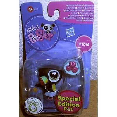 Hasbro Littlest Pet Shop LPS # 1396 Tukan Special Edition Pet