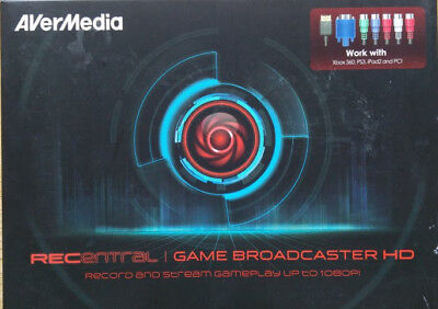 AVerMedia RECENTRAL Game Broadcaster HD