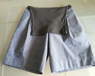Philosophy Di Lorenzo Serafini Denim Culottes Pregnancy UK 10-12